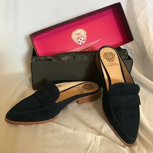 Navy Vince Camuto Mule BRAND NEW IN BOX NEVER WORN